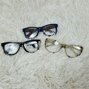 Pre-owned Betsey Johnson 2.50 Reading Glasses 3